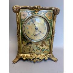 Jappy Art Nouveau Clock Mucha